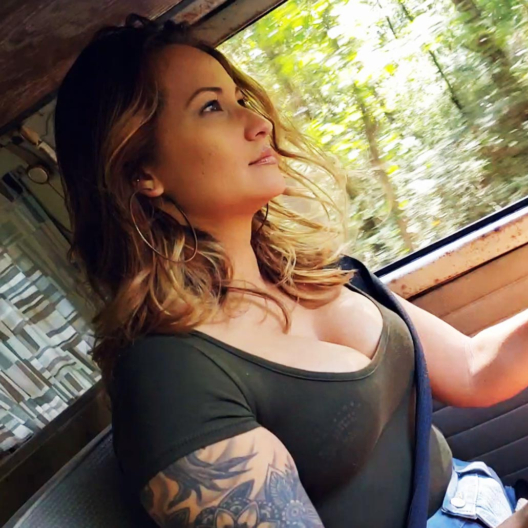 Jane Domino Driving the Bus 'Them Boobs N Legs Tho!', 2 of 2