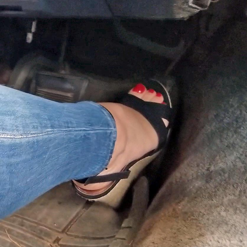 Dirty Diana & Jane Domino Drive the Monte in Wedge Sandals