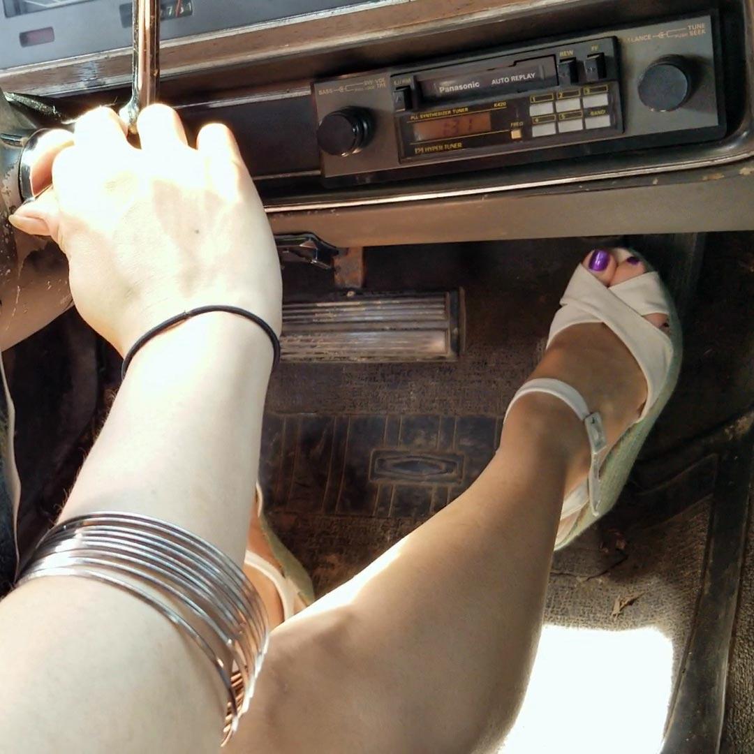 Jane & Karolina Crank & Drive the '74 Dodge Coronet, 1 of 2
