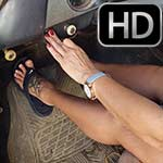 Brooke & Jane Cranking the '51 Chevy in Flip Flops, 2 of 2