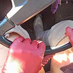 Vassanta Cold Cranking Camaro & Bug in Gray Boots, 2 of 2